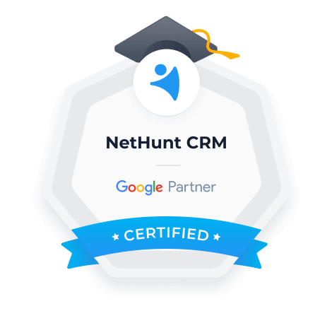 Recognized as a certified Google Partner.